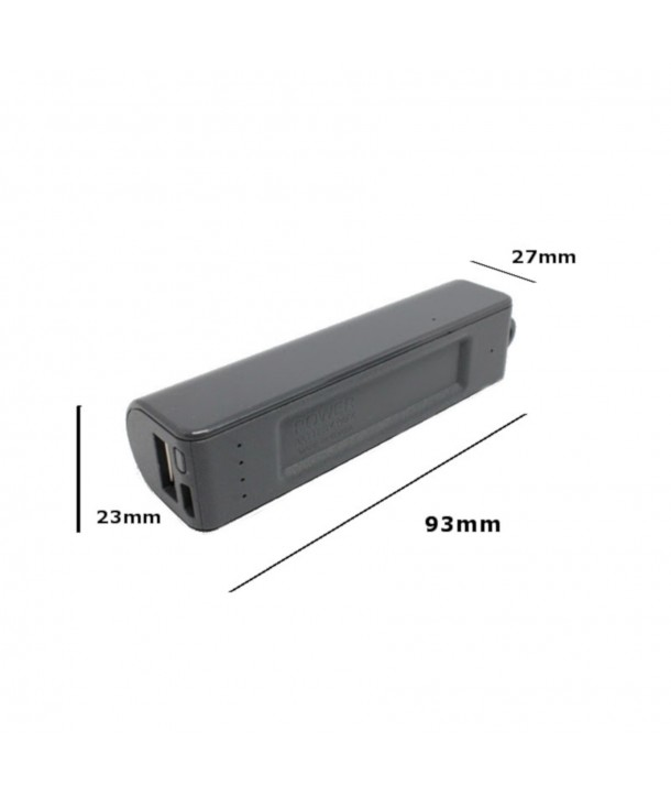 Comct Power bank with hidden voice recorder