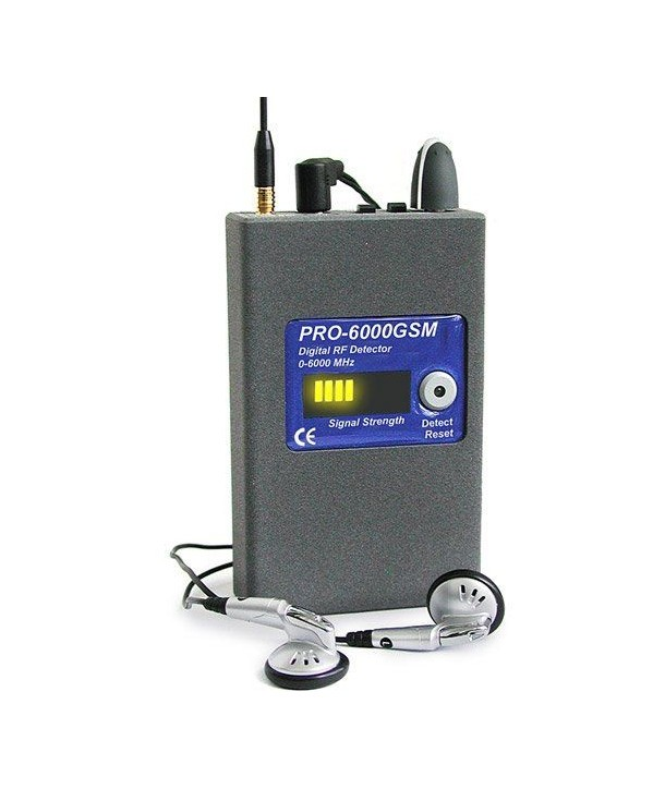 Professional bug detector PRO6000 GSM