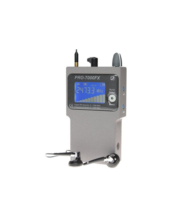 Detector PRO7000 with frequency counter